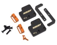 "XRAY T4 2019 Aluminum ""Shorty"" Adjustable Battery Holder & Weight Set 