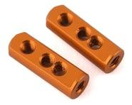 XRAY X12 2020 Aluminum Servo Mount (Orange) (2) | alsopurchased