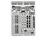 XRAY XB8 Sticker Sheet (White) | alsopurchased
