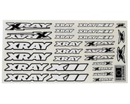 XRAY X12 Sticker Sheet (White) | relatedproducts