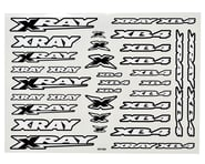 Xray XB4 Sticker Sheet (White) | product-also-purchased