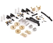 Yeah Racing SCX24 C10/Jeep Metal Upgrade Parts Set (133.7mm Wheelbase) | product-related