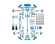 Yeah Racing Tamiya TT-02 Aluminum Upgrade Kit (Blue) | product-also-purchased