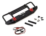 Yeah Racing Aluminum Front Bumper w/LED Light (Black) | alsopurchased