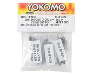Yokomo BD8 Titanium Screw Set | alsopurchased