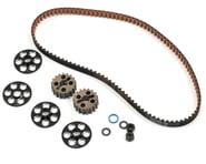 Yokomo YZ-4 Aluminum Narrow Rear Pulley & Belt Set | relatedproducts