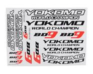 Yokomo BD9 Logo Decal Sheet | relatedproducts