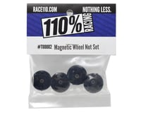 110% Racing Magnet 17mm Wheel Nut (4)