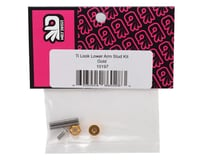 """Image 2 for 175RC """"Ti-Look"""" Lower Arm Stud Kit (Gold)"""