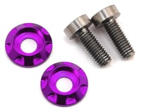 "175RC 3x8mm Titanium ""High Load"" Motor Screws (Purple)"