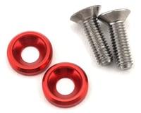 175RC 3x10mm Titanium Motor Screws (Red) | alsopurchased
