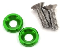 175RC 3x10mm Titanium Motor Screws (Green) | relatedproducts