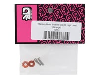 "Image 2 for 175RC 3x10mm ""High Load"" Titanium Motor Screws (Orange)"