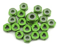 175RC TLR 22 5.0 Aluminum Nut Kit (Green) (19)