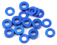 175RC M3 Ball Stud Washers (16) (Blue) (Team Associated RC10 F6)
