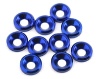 175RC Aluminum Flat Head High Load Spacer (Blue) (10)