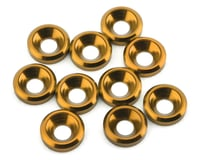 175RC Aluminum Flat Head High Load Spacer (Gold) (10)