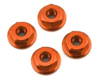 175RC Mini-T 2.0 Serrated Wheel Nuts (4) (Orange)