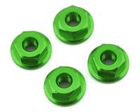 175RC Mini-T 2.0 Serrated Wheel Nuts (4) (Green)