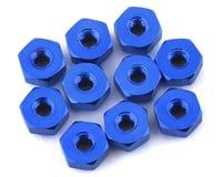 175RC Mini-T 2.0 Aluminum Nut Kit (Blue) (10)