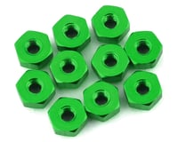 175RC Mini-T 2.0 Aluminum Nut Kit (Green) (10)