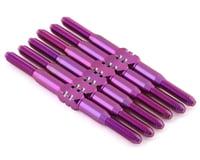 175RC Associated DR10 Titanium Turnbuckle Set (Purple) (6)