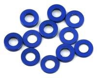 175RC Mini T/B Ball Stud Spacers (Blue) (12) (Losi Mini-T 2.0)