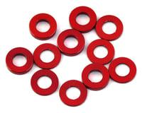 175RC Mini T/B Ball Stud Spacers (Red) (12) (Losi Mini-T 2.0)
