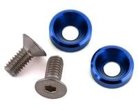 175RC Mini T/B High Load Motor Screws (Blue) (2) (Losi Mini-T 2.0)