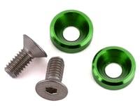 175RC Mini T/B High Load Motor Screws (Green) (2) (Losi Mini-T 2.0)