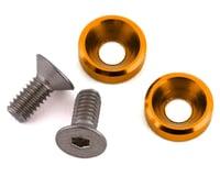 175RC Mini T/B High Load Motor Screws (Gold) (2) (Losi Mini-T 2.0)