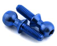 175RC 5.5x8mm Titanium Ball Studs (Blue) (2)