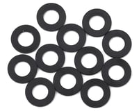 1UP Racing Precision Aluminum Shims (Black) (12) (25mm) (Team Durango DETC410)