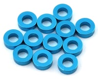 1UP Racing Precision Aluminum Shims (Blue) (12) (2mm)
