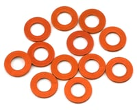 1UP Racing Precision Aluminum Shims (Orange) (12) (25mm) (Team Durango DETC410)