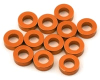 1UP Racing Precision Aluminum Shims (Orange) (12) (2mm) (Team Durango DEX410 V5)