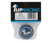 Image 2 for 1UP Racing 3x8x0.5mm Precision Aluminum Shims (Black) (10)