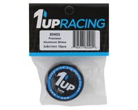 Image 2 for 1UP Racing 3x8x1mm Precision Aluminum Shims (Black) (10)