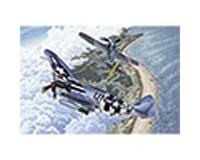 Academy/MRC 1/72 Fw190A8 & P47D Aircraft Normandy Invasion 70t