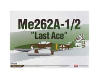 Academy/MRC 1/72 Me262a-1/2 Last Ace Ltd. Ed.