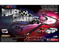 AFX Police Chaser Set:30ft Track,Mega G+,Tri-Power Pck