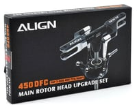 Image 2 for Align 450DFC Main Rotor Head Upgrade Set (Black)
