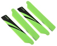 Align 150 120mm Main Blade Set (Green/Black Tips) | relatedproducts