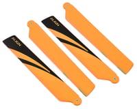 Align 150 120mm Main Blade Set (Orange/Black Tips) | relatedproducts
