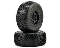 AKA Gridiron SC Pre-Mounted Tires (SC6/Slash/Blitz) (2) (Black) | relatedproducts