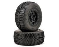 Image 1 for AKA Gridiron SC Pre-Mounted Tires (TEN-SCTE) (2) (Black) (Super Soft)
