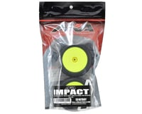 """Image 2 for AKA Impact 2.2"""" Rear Buggy Pre-Mounted Tires (2) (Yellow) (Soft)"""