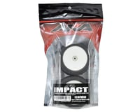 """Image 2 for AKA Impact 2.2"""" Rear Buggy Pre-Mounted Tires (2) (White) (Super Soft)"""