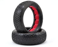 """AKA """"EVO"""" Typo Front 2WD Buggy Tires (2) (Soft)"""