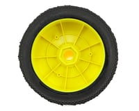 Image 2 for AKA Impact 1/8 Buggy Pre-Mounted Tires (2) (Yellow) (Super Soft - Long Wear)